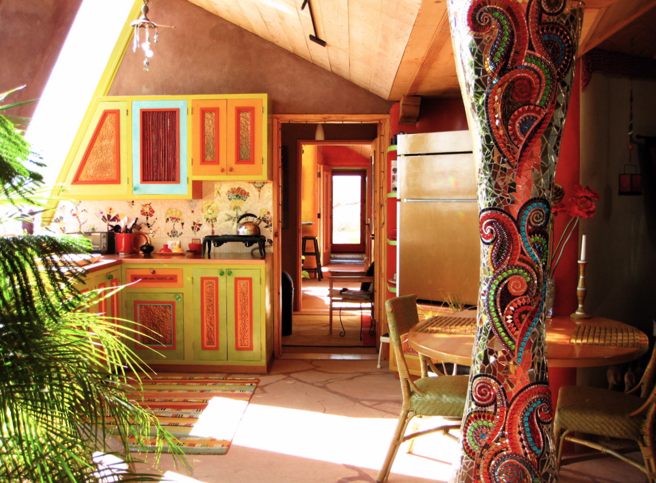 New Mexico Earthship Internship Meaningful Work Project